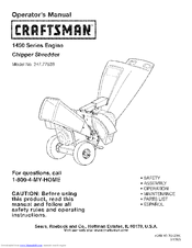 Craftsman 1450 Series Operator S Manual