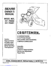 Craftsman 247.795860 Owner's Manual