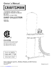 Craftsman 152.213361 Owner's Manual