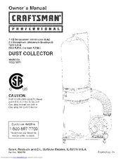 Craftsman 152.213371 Owner's Manual