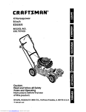 CRAFTSMAN EDGER 536 7974 OPERATING INSTRUCTIONS MANUAL Pdf