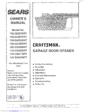 Craftsman 139.53637SRT Owneru0027s Manual