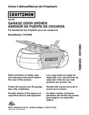 Craftsman 139 5399 Owner S Manual Pdf Download Manualslib