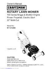 craftsman 700 series manuals rh manualslib com Craftsman Lawn Mower 700 Series Craftsman Platinum 7.25 Manual