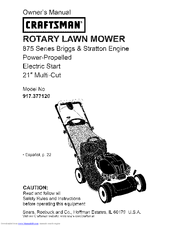 Craftsman ROTARY 917.37712 Owner's Manual