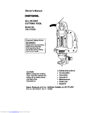 Craftsman 183.172530 Owner's Manual
