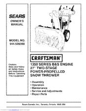 craftsman sears 944 528398 owner s manual pdf download
