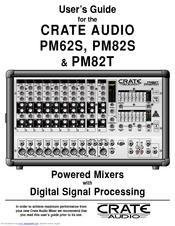 crate audio pm62s manuals rh manualslib com Audio Tour Guide Museum Audio Guide Equipment