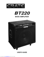 CRATE BT220 USER MANUAL Pdf Download.