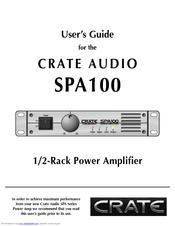 crate spa100 manuals rh manualslib com GPS Audio Guide Louvre Audio Guide