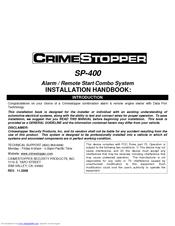 crimestopper sp 400 manuals rh manualslib com CRC Sp-400 SP- 404 J Dilla