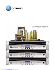 Crown Macro-Tech MA-2402 Catalog