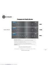 crown 1160ma manuals rh manualslib com Crown Amplifiers Crown Speakers