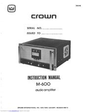 crown macro tech 5002vz manual