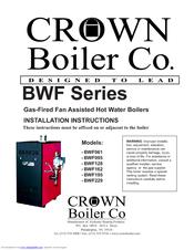 crown boiler bwf162 manuals. Black Bedroom Furniture Sets. Home Design Ideas