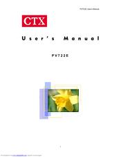 CTX PV722E Drivers Windows