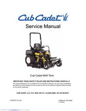 Cub Cadet THE TANK M48 Manuals