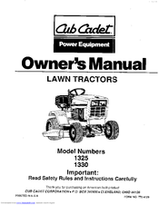 cub cadet 1330 manuals rh manualslib com cub cadet 1330 manual bypass controls cub cadet 1330 parts manual