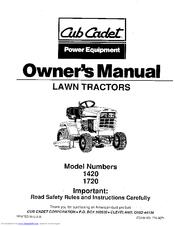 Cub cadet 1420 Manuals | ManualsLibManualsLib