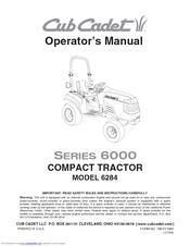 Cub Cadet 6284 Operator's Manual