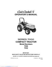 cub cadet 7532 manuals rh manualslib com cub cadet operators manual lt1 cub cadet operator's manuals pdf
