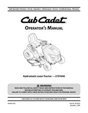 cub cadet ltx1046 operator s manual pdf download