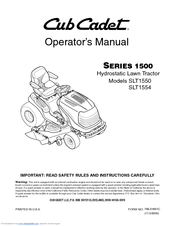 cub cadet slt1550, slt1554 operator\u0027s manual pdf download Cub Cadet Lt1042 Wiring Diagram