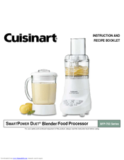 Cuisinart bfp 703r smartpower duet blenderfood processor manuals cuisinart bfp 703r smartpower duet blenderfood processor instruction and recipe booklet forumfinder Choice Image