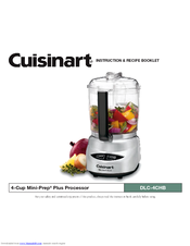 Cuisinart cgc 4bcpc mini prep plus food processor manuals cuisinart cgc 4bcpc mini prep plus food processor instruction and recipe booklet forumfinder Choice Image