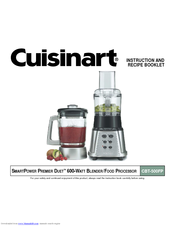 Cuisinart cbt 500fp smartpower premier blender food processor manuals cuisinart cbt 500fp smartpower premier blender food processor instruction and recipe booklet forumfinder Image collections