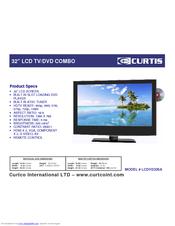 curtis lcdvd326a manuals rh manualslib com Curtis TV Power Button Curtis Mathes TV
