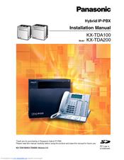 panasonic hybrid ip pbx kx tda200 manuals rh manualslib com panasonic tda100 programming manual pdf panasonic tda100 programming manual pdf