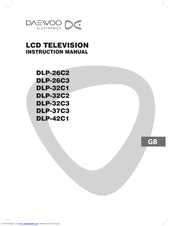 daewoo dlp 32c3 manuals rh manualslib com Samsung TV Manuals LG LCD TV