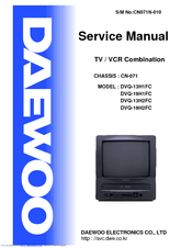 Daewoo DVQ-13H1FC Service Manual