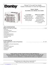 Danby Dac8010e Manuals