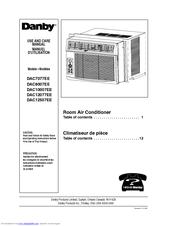 danby dac12077ee manuals rh manualslib com Danby Air Conditioner Manual Online Danby Air Conditioner Manual Online