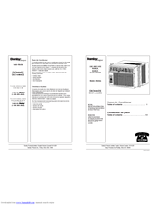 danby premiere air conditioner user manual
