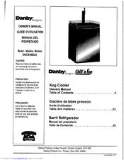 danby designer chill n tap dkc645bls owner s manual pdf download rh manualslib com Danby Keg Cooler Danby Refrigerator Parts