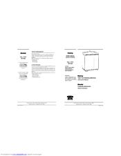 danby air conditioner user manual