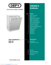 defy dishmaid 3 manuals rh manualslib com