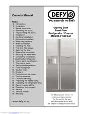 Defy f 600 lm manuals defy f 600 lm owners manual swarovskicordoba Gallery