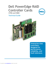 Dell PERC H800 Technical Manual