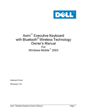 Dell Axim Owner's Manual