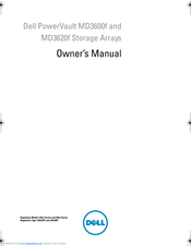 Dell PowerVault MD3600f Series Owner's Manual