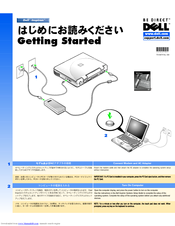 Dell Inspiron 3800 Getting Started Manual