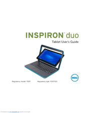 Dell Inspiron duo Audio Station User Manual