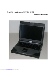 dell latitude xt owners manual