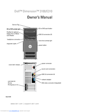 Dell Dimension 3100 Owner's Manual