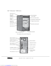 dell dimension 2400 series manuals rh manualslib com Dell Dimension 2300 Dell XPS 400