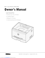 dell 1700 1700n owner s manual pdf download rh manualslib com dell 1320c repair manual Dell 1235Cn